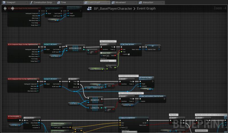 UE4 Blueprints