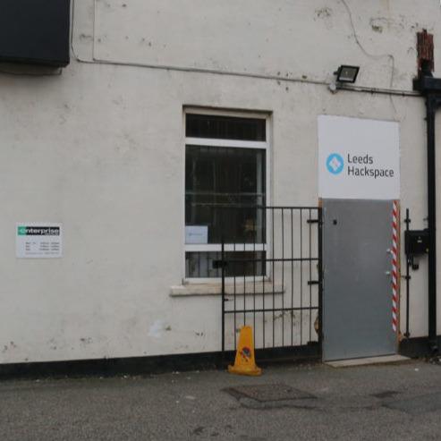 Leeds Hackspace front door