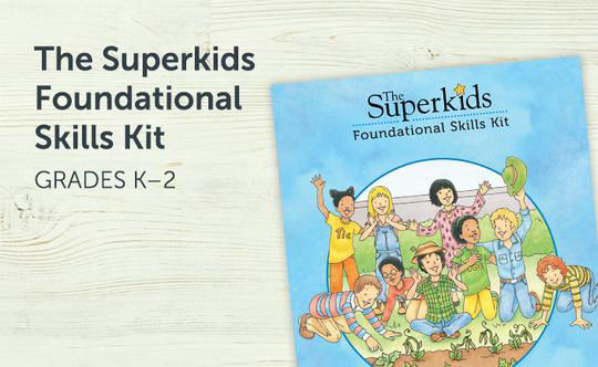ZB Superkids Foundational Skills Kit