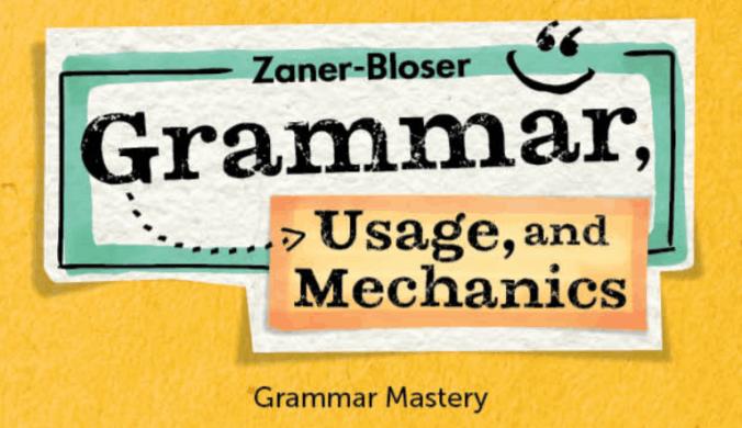 Grammar, Usage, & Mechanics