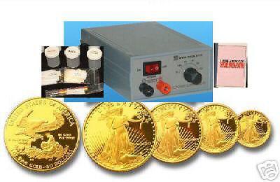 24K Gold plating Kit, 14K 18K 24K