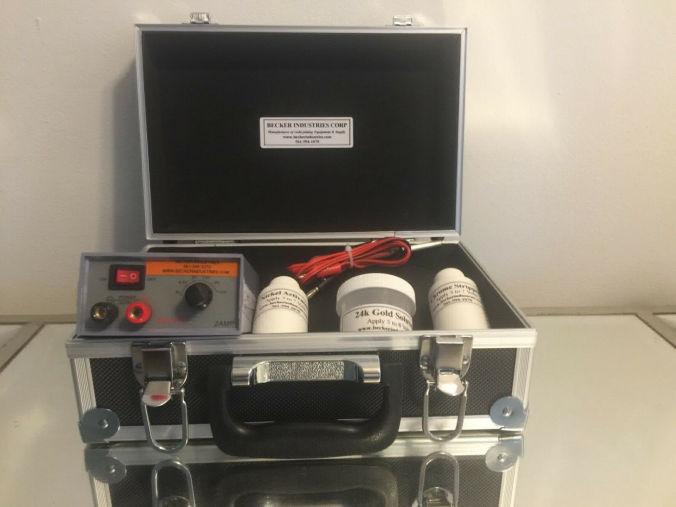Maxim Mini 24K Gold plating Kit, 24K Immersion plating Kit, 24K Electroplating Kit