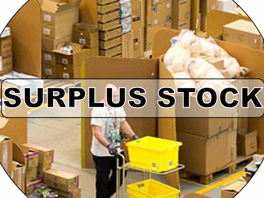 Surplus Stock - Reduced Price